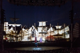 Un spectacle familial en plein air : Nezha, l'enfant pirate du Cirque Éloize