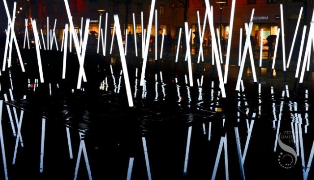 Bamboo est une installation créée par Christopher Mayer, un artiste lyonnais. Elle sera exposée près des habitations Jeanne-Mance.