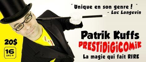 Patrik kuffs - Le magicien qui fait rire
