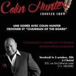 Colin Hunter Crooner Show