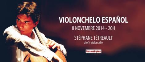 Stéphane Tétreault - Violonchelo Español
