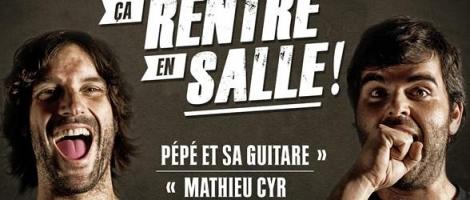 Pépé et Mathieu Cyr
