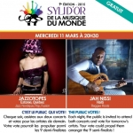Syli d'or 2015 | Jazzotopes + Jah Nissi