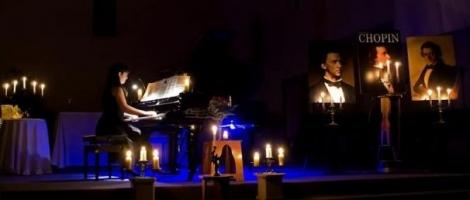 Frédéric Chopin... sous les chandelles