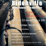Projection du film | Bidonville
