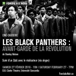 Ciné Causerie | Les Black Panthers