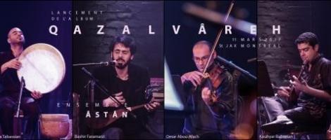 Ensemble Âstân | Lancement album Qazalvâreh