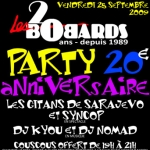 Party 20e anniversaire des Bobards