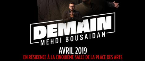 Mehdi Bousaidan | DEMAIN