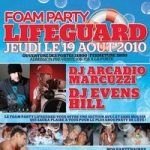 Lifeguard Foam Party