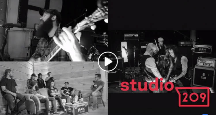 Studio 209 | Steamboat Woody, The Devil Legba et Dizzygoth